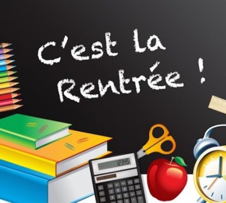 BELLE RENTREE A TOUS NOS ELEVES !
